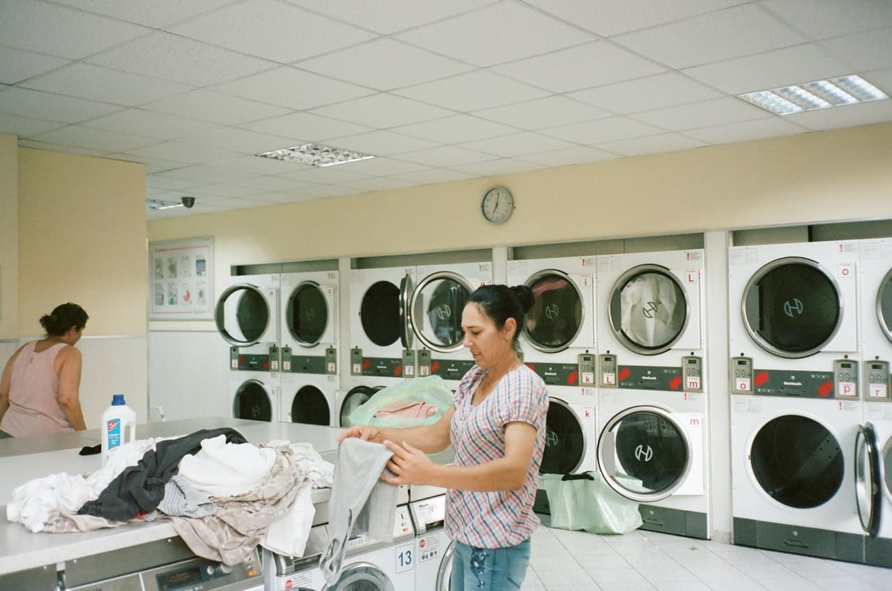 generate income by having a coin-operated laundry machine