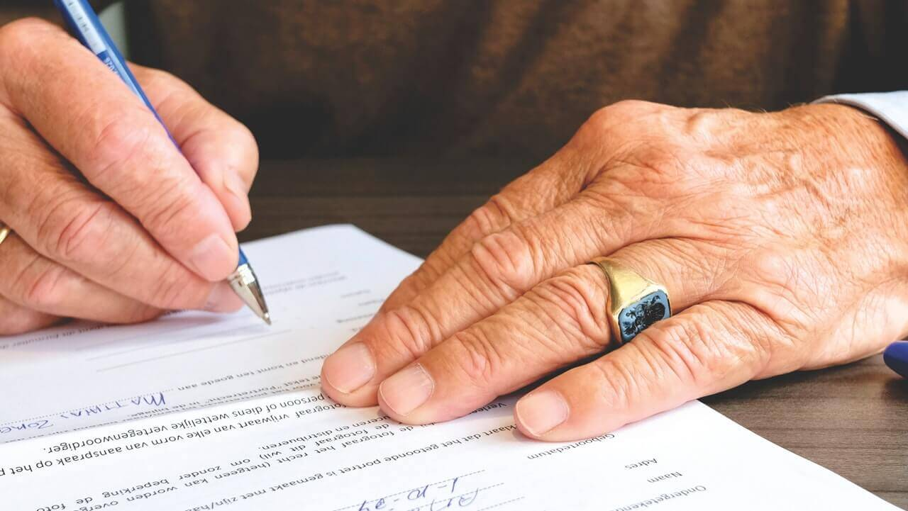 signing a lease